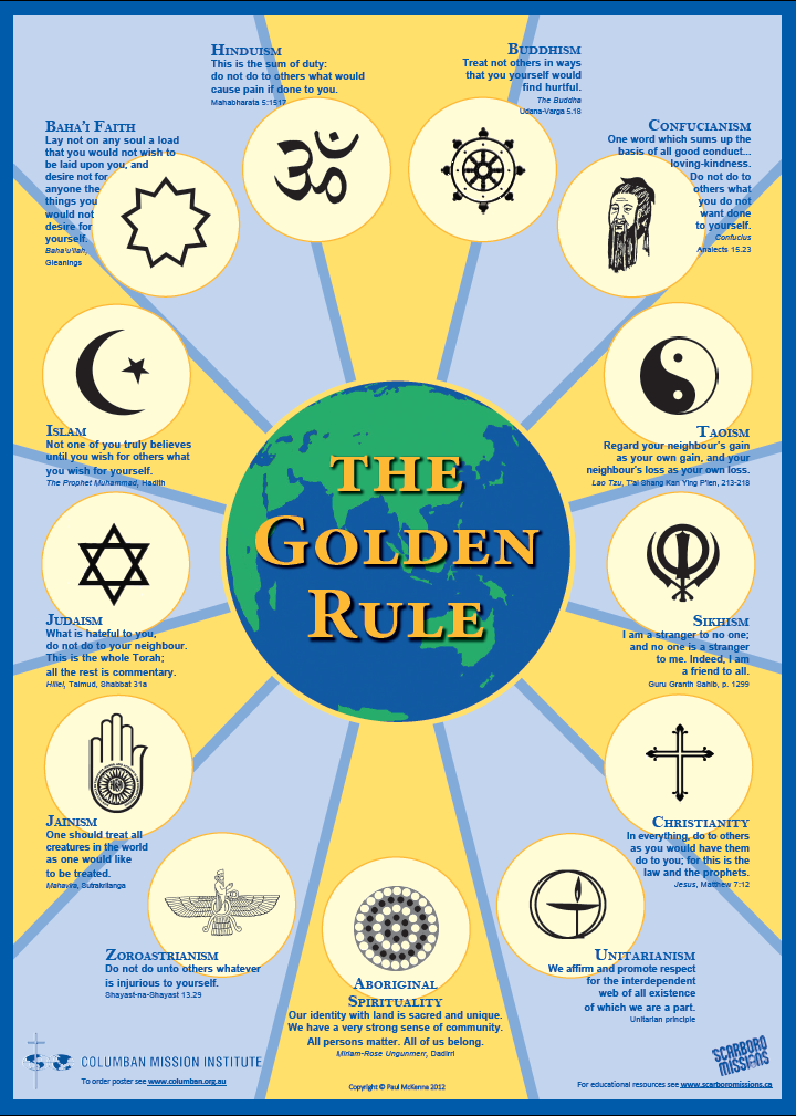 Golden Rule Poster HR