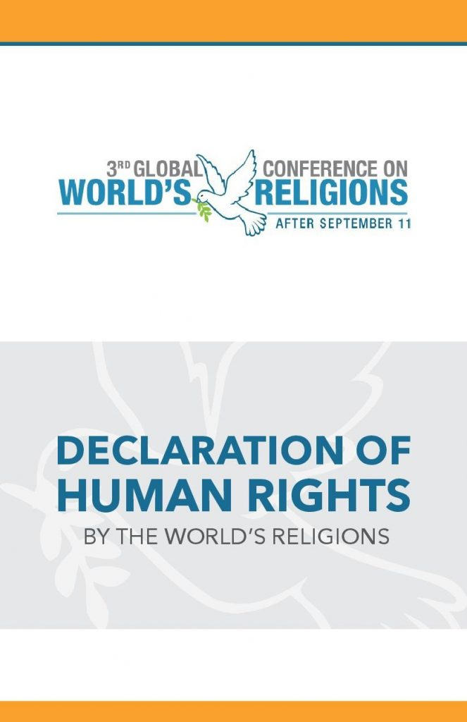Declaration of Human Rights by the Worlds' Religions