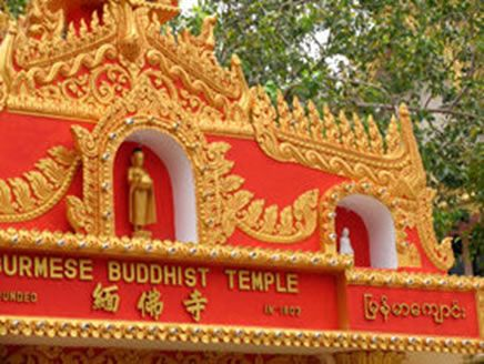 Encounters in a Buddhist Monastery
