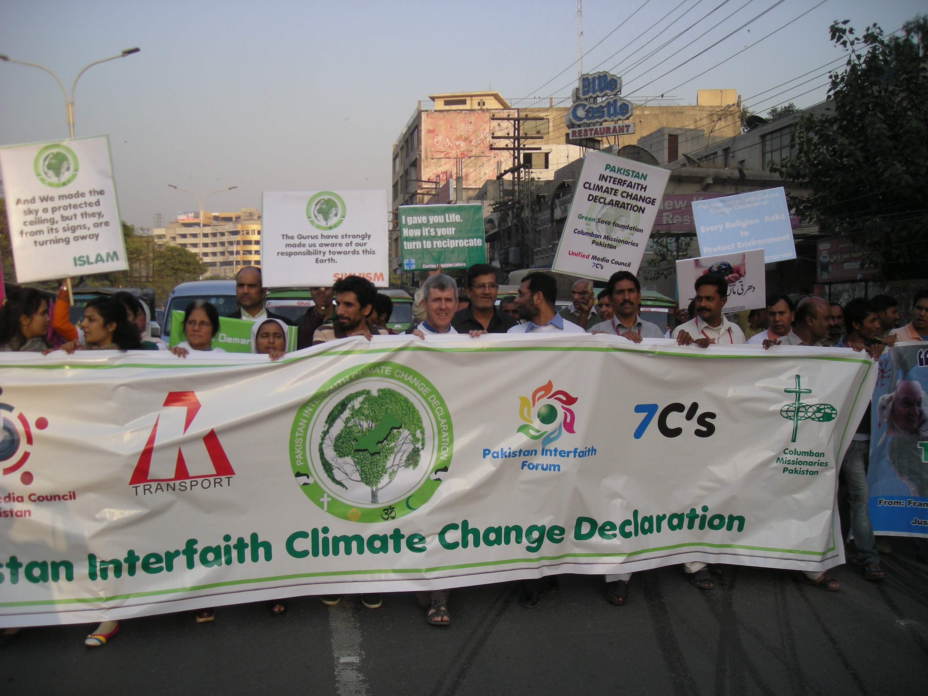 In South Asia, church finds a voice on climate change