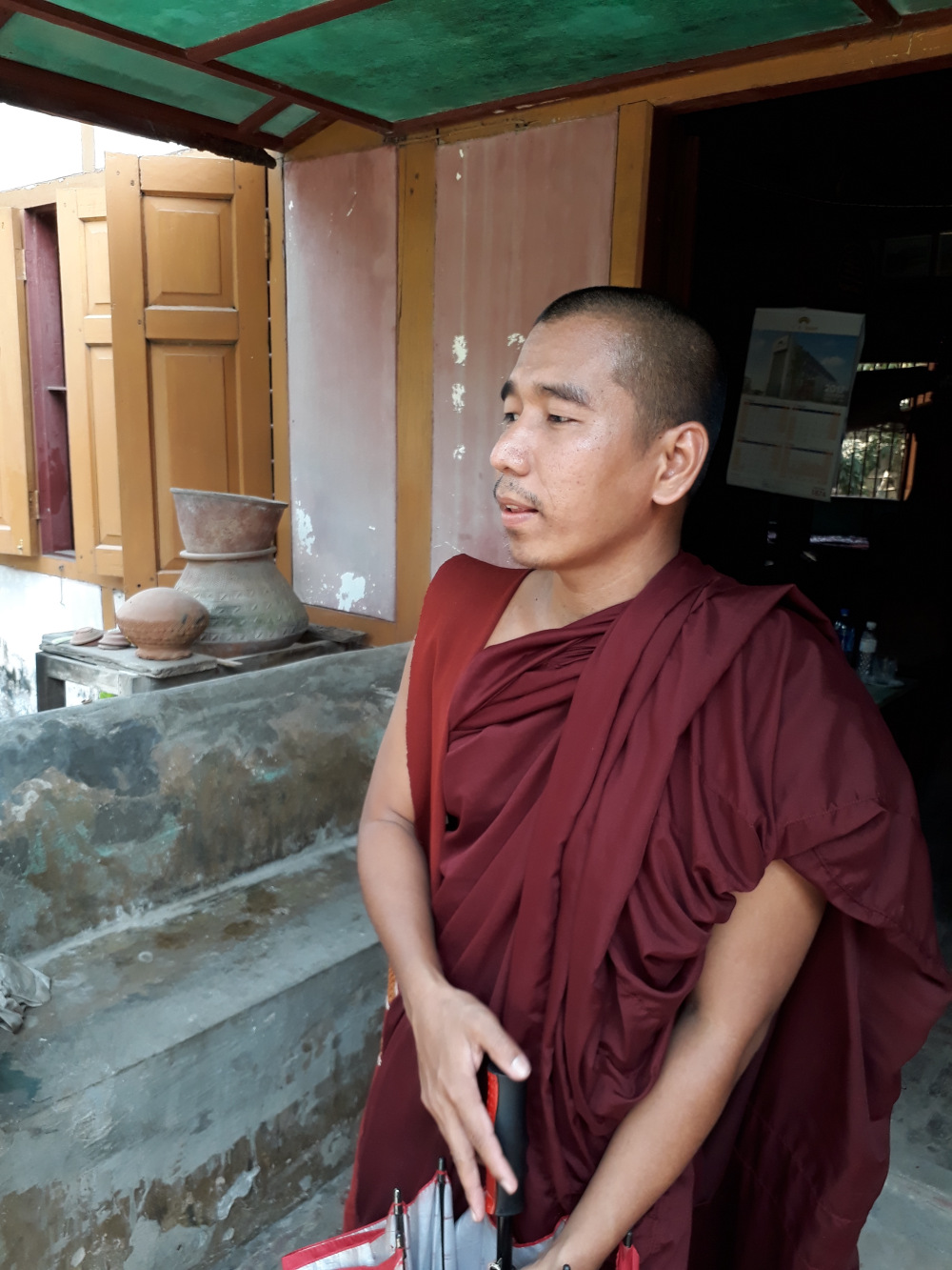 Shwebo and his Monastery